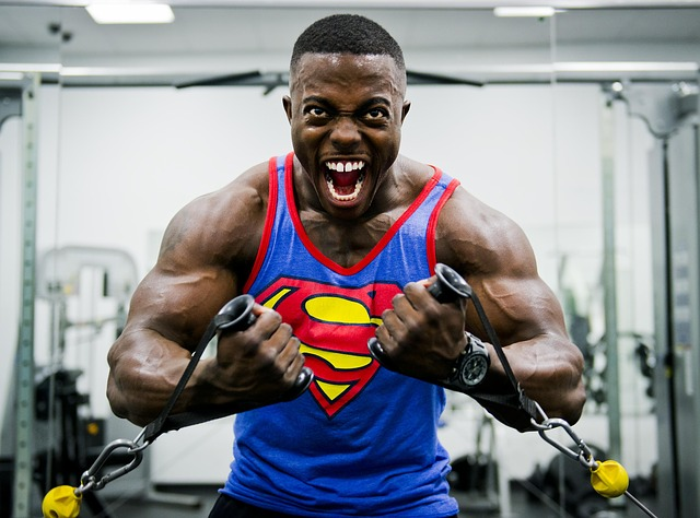 černý supermann